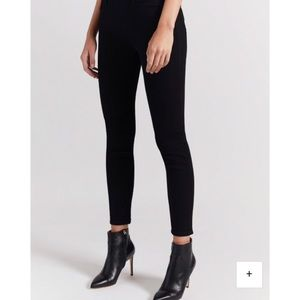 Current Elliot the stiletto skinny knee distress